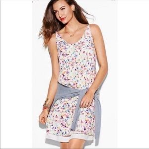CAbi #321 Meadow Dress Ditzy Watercolor Floral XS